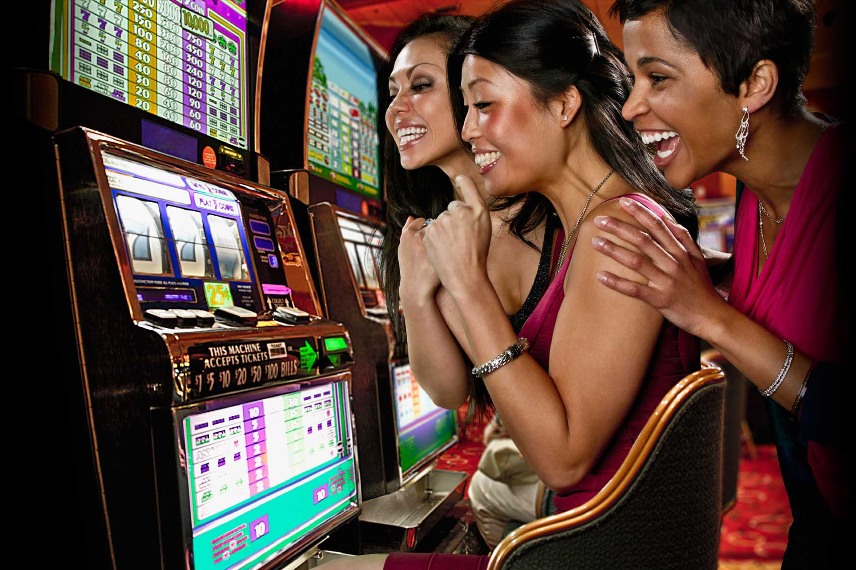 Image result for playing slot games